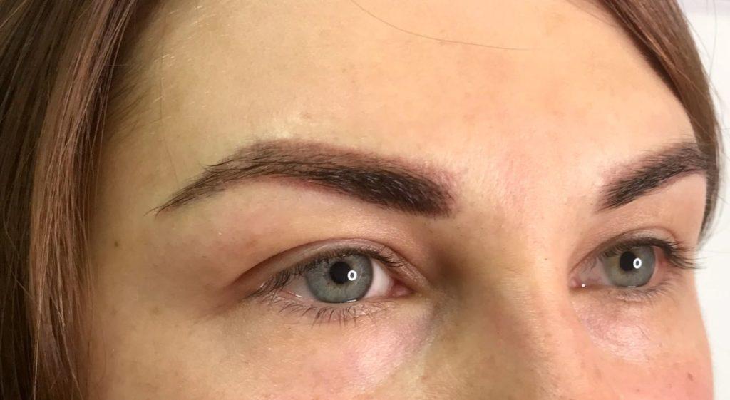 Перманентный макияж теневая растушёвка