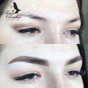 Перманентный макияж - растушёвка